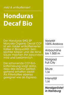 Peru SHB Decaf CO2 Bio 1000g